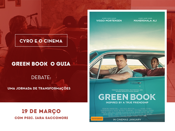 cyro e o cinema - green book