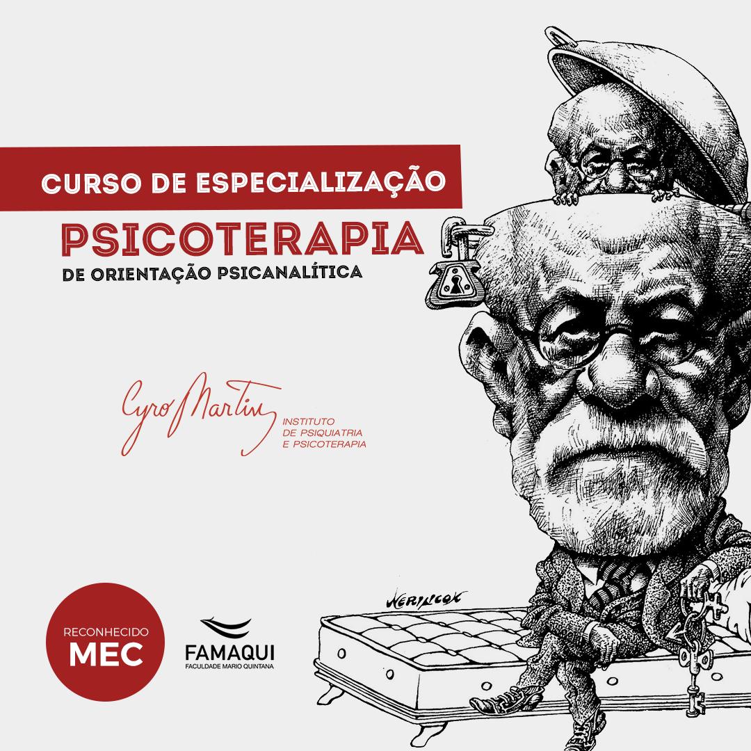 Curso Especialização Psicoterapia