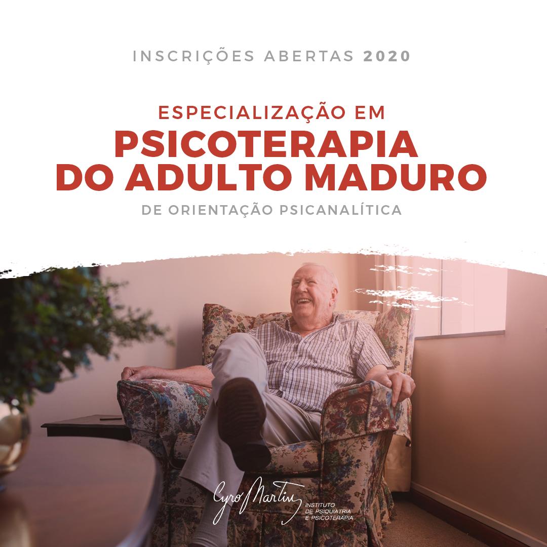 Psicoterapia Adulto Maduro 2020